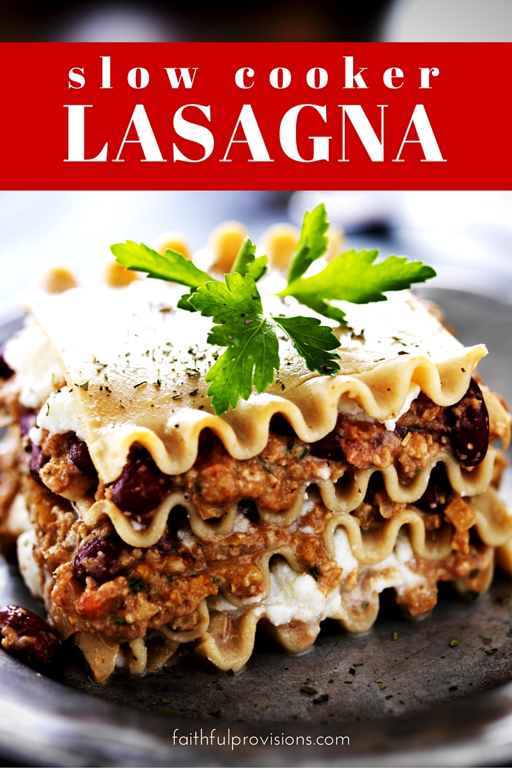 Slow Cooker Lasagna (1)