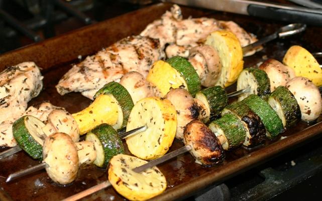 Greek Kabobs-grill