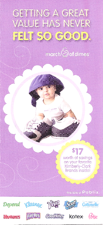 Publix Booklet March Of Dimes Amp Kimberly Clark Faithful