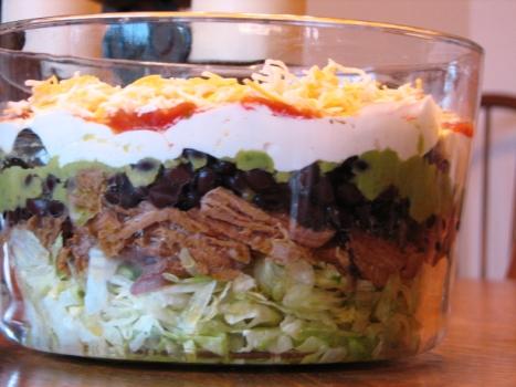 Food Presentation Using A Trifle Bowl Faithful Provisions