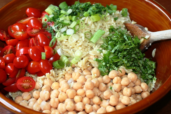 Summer Orzo Salad-ingred