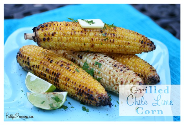 Grilled Corn with Chile and Lime