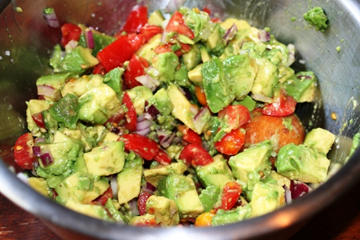 ... salad with a Mexican dish or as a topping over a green garden salad