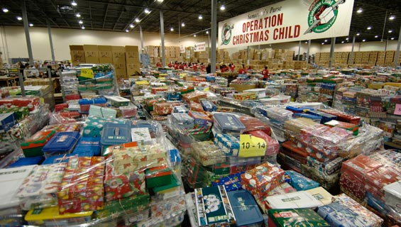 Operation Christmas Child Collection Due Date