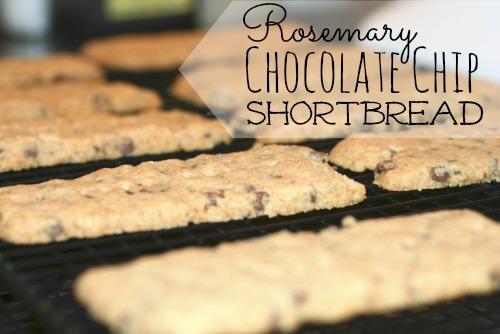 Rosemary Chocolate Chip Shortbread | Faithful Provisions