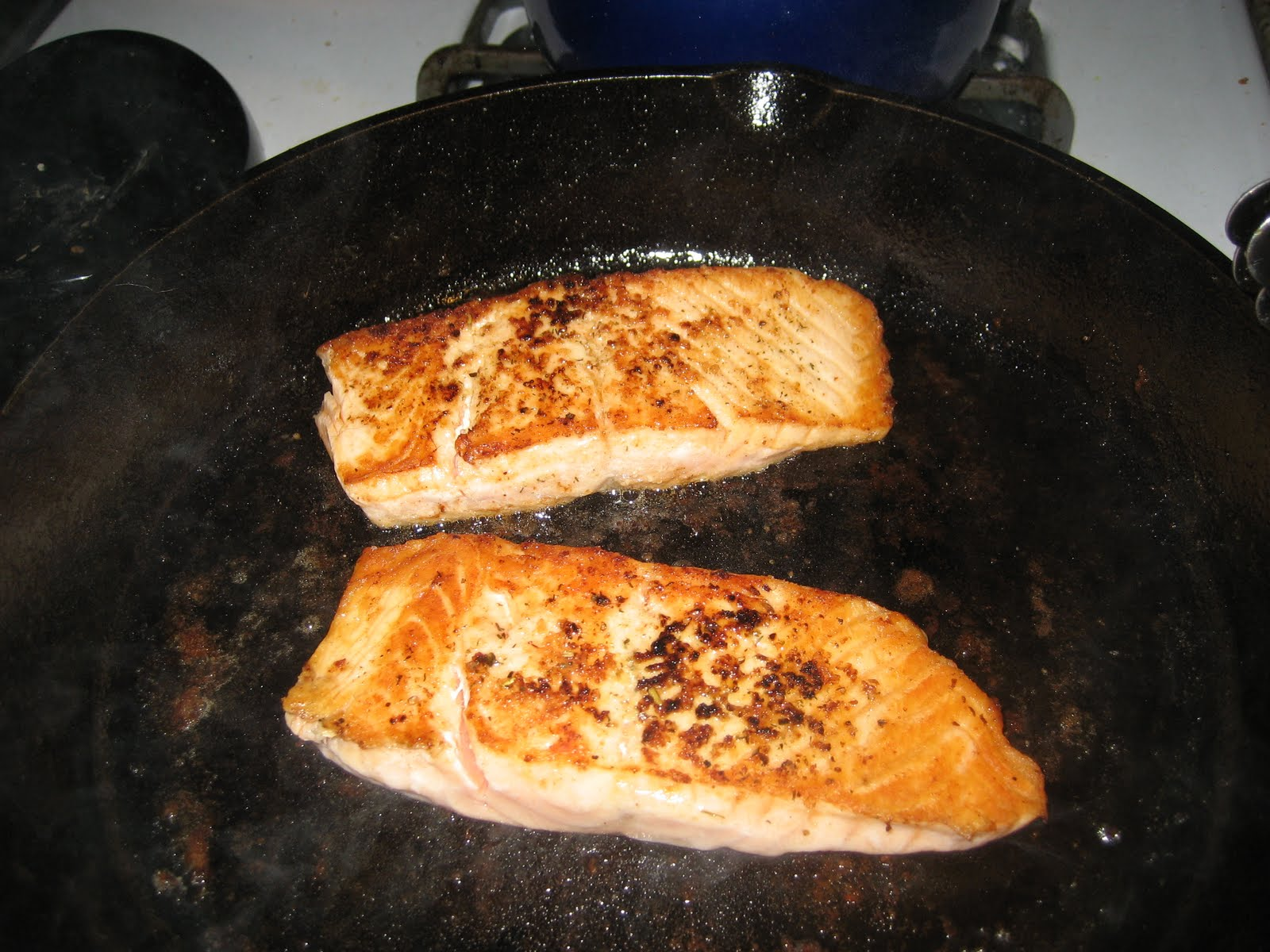 Pan seared fish with asian dressing faithful provisions for How to cook cod fish in a pan