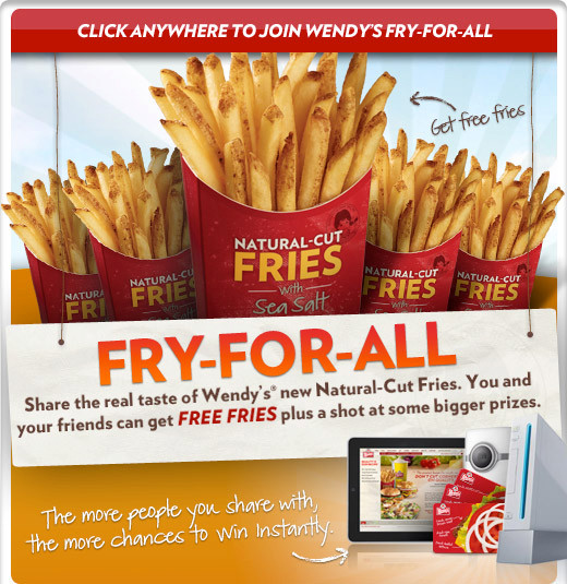 Free Wendy's Natural Cut Fries - Faithful Provisions