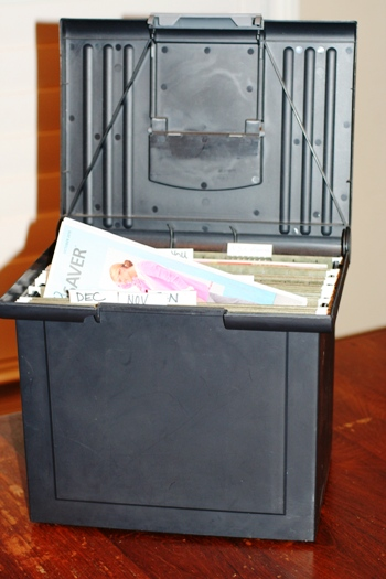 Coupon-file-box-system