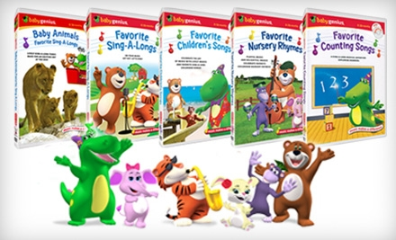 Baby Genius DVDs and CDs