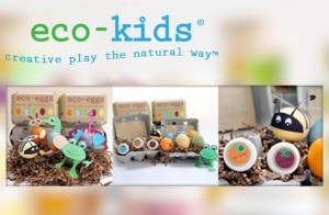 Easter Egg Coloring Kits from Eco-Kids on Savvy Source
