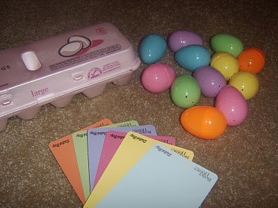 Egg Matching Carton Craft