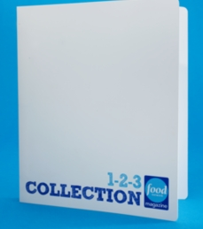 Free 123 Recipe Collections Binder from Food Network
