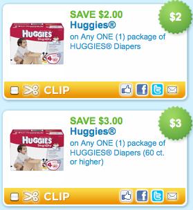 Huggies diapers coupons printable