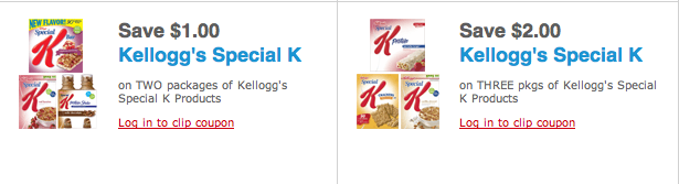 Special k drinks coupons