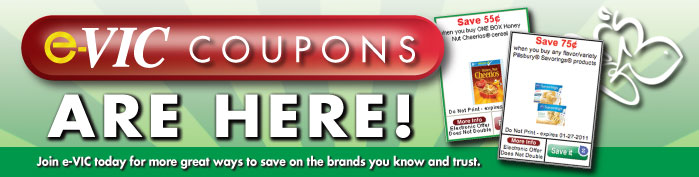 Harris Teeter e-VIC coupons