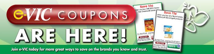 Harris Teeter e-VIC coupons