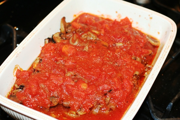 Tomato Covered Minute Steak Recipe
