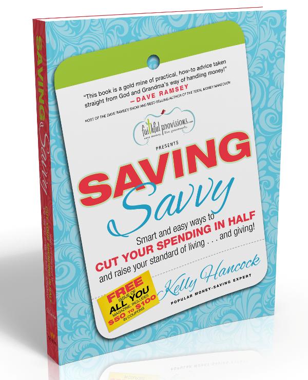 Giveaway-Saving-Savvy-Book