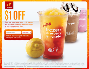 In order to use your McDonalds coupons you will first have to install the McDonalds app into your smartphone, tablet or any device that is compatible with the app. Once you select an offer that you found at nudevideoscamsofgirls.gq, you will then be taken to your McDonalds app and it will tell you if that offer is available in your location.