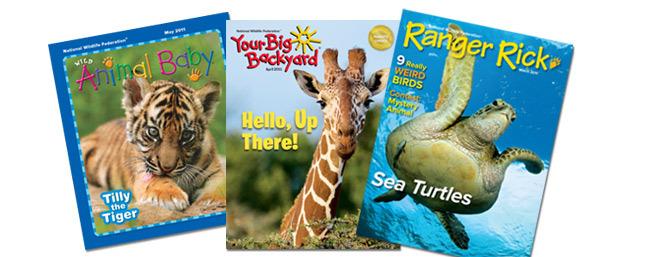 Ranger Rick Family of Magazines Deal on Mamapedia