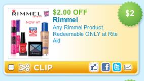 Rimmel Mascara Deal at Rite Aid