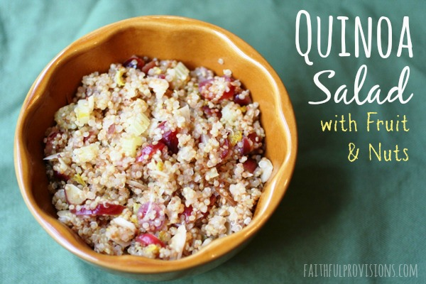 Quinoa Salad with Dried Fruit & Nuts