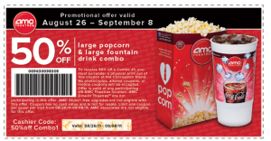 Shop with AMC Theatres coupon codes to save on: Tickets to your favorite new movie or event at AMC theatres, IMAX, ETX, Dine-In Theatres, MacGuffin's, and more Personalized AMC gift cards, with a photo you can upload yourself and a message to the recipient5/5(8).