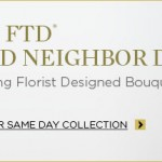 FREE Flowers From FTD Today
