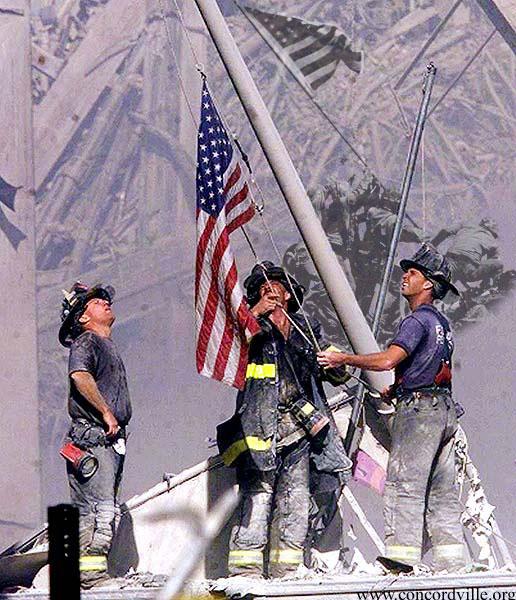 9/11-firemen-flag