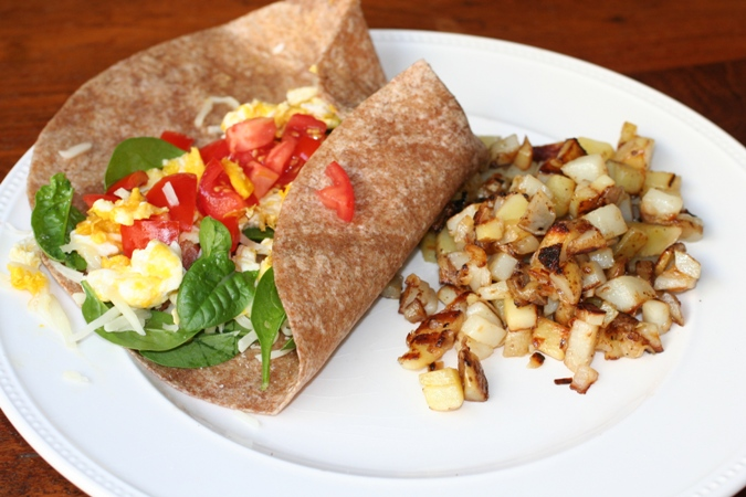 Breakfast-Burrito-Hashbrowns