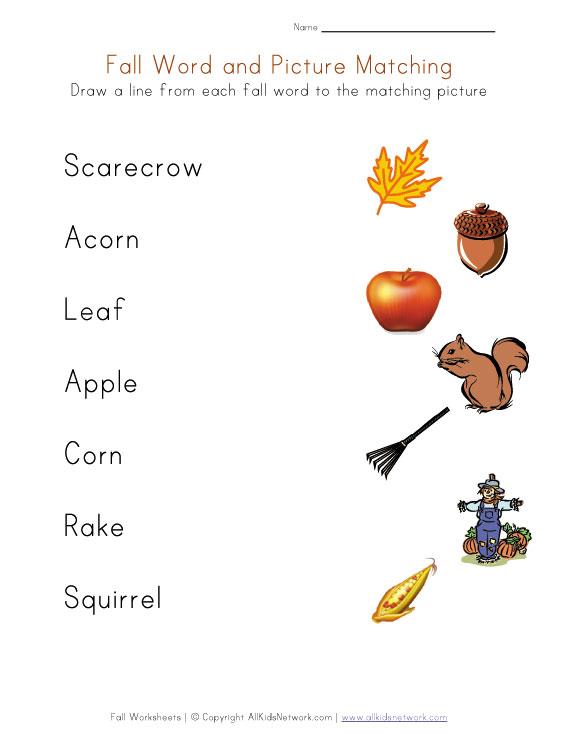 kids-fall-worksheets