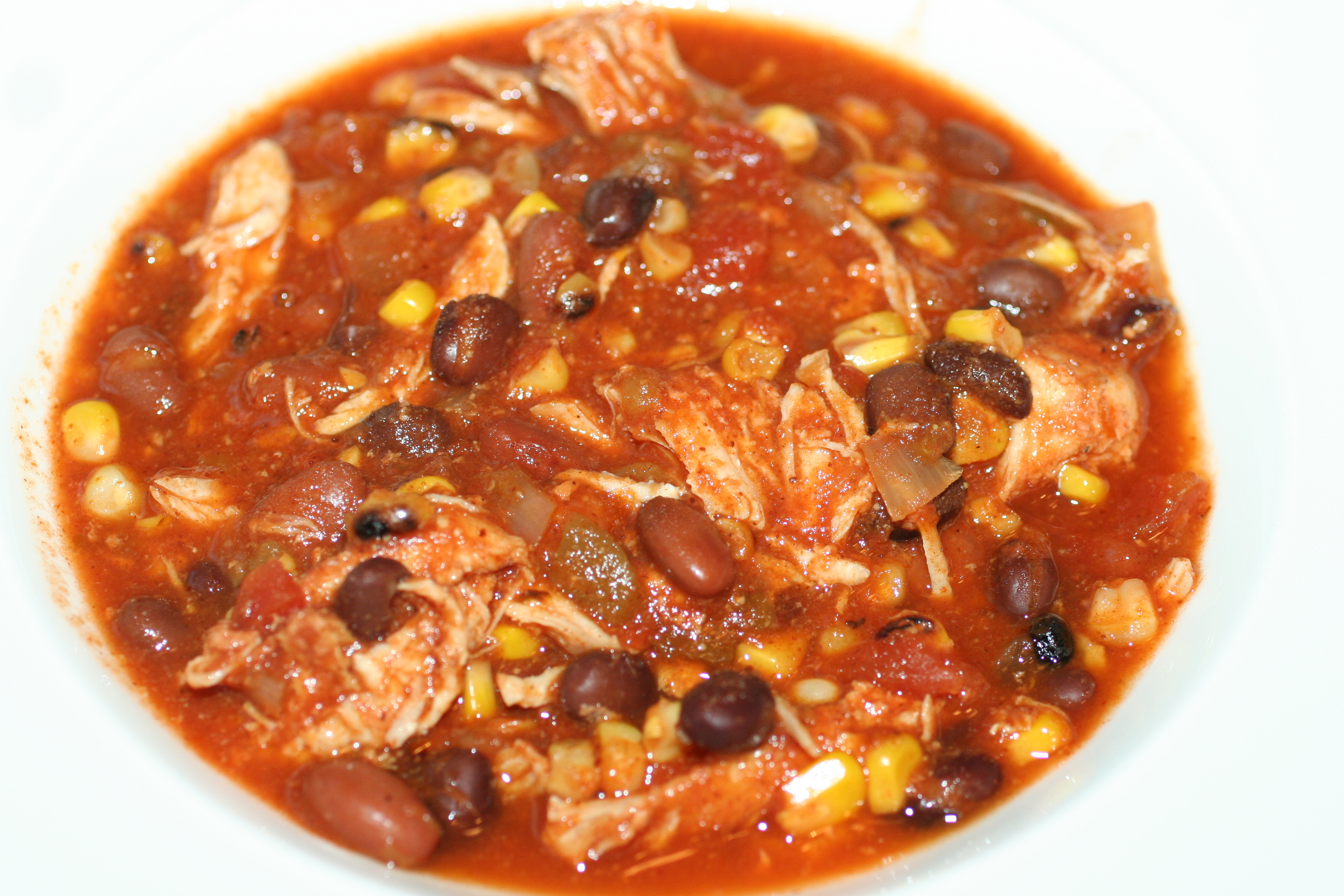Crock Pot Chicken Taco Chili - Faithful Provisions