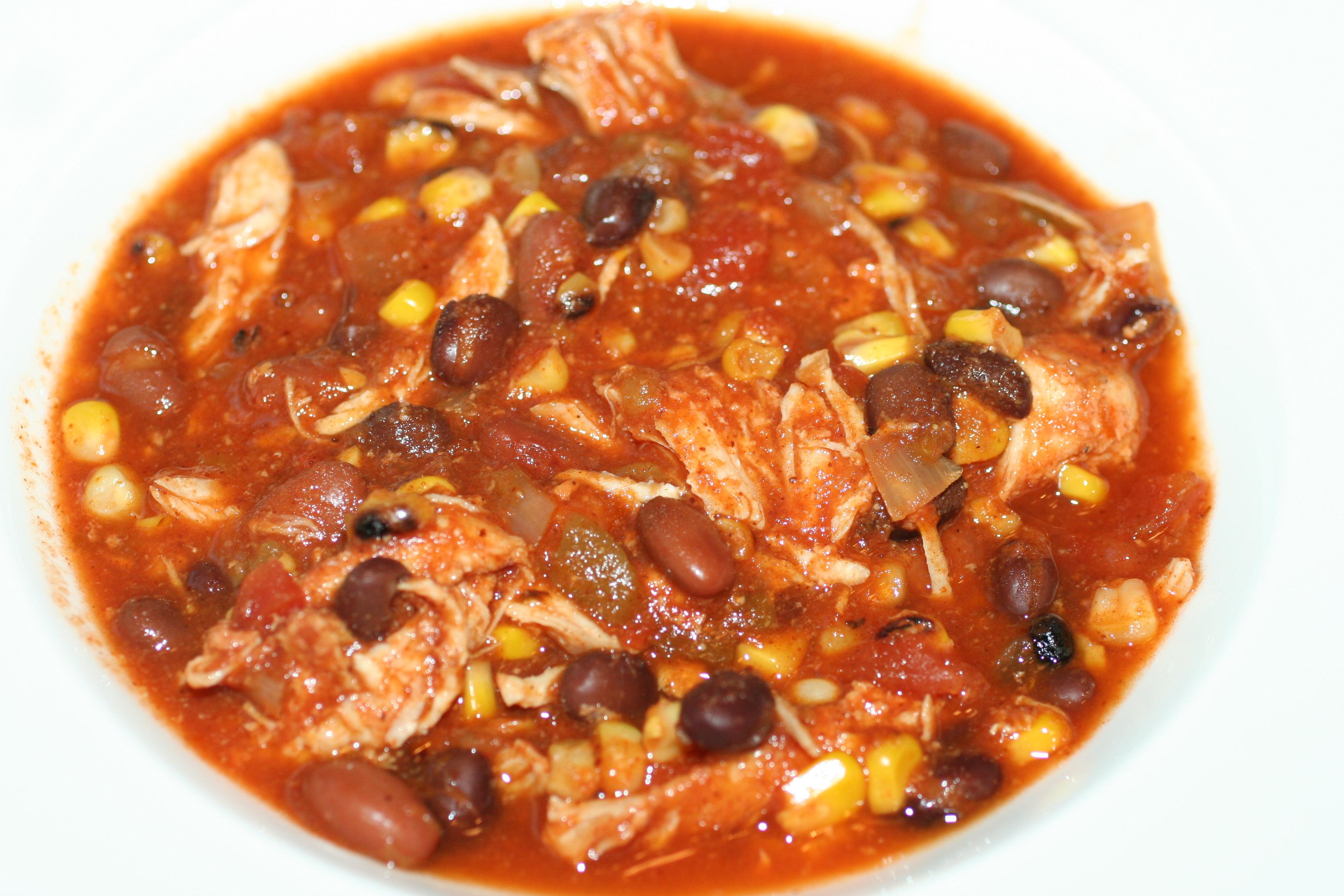 Crock Pot Chicken Taco Chili Faithful Provisions