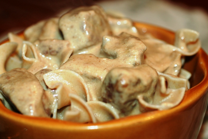 Stew meat stroganoff crock pot recipes