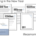 FREE Printable New Year's Planning Booklet: Ringing in the New Year