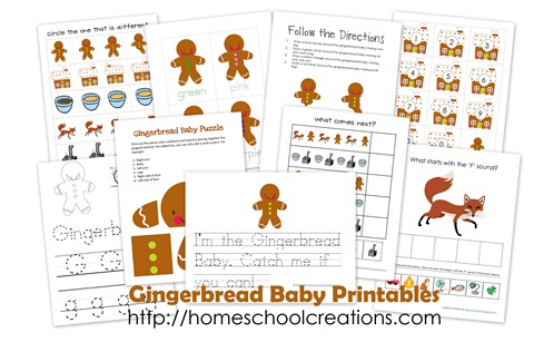 Gingerbread-Baby-Printables