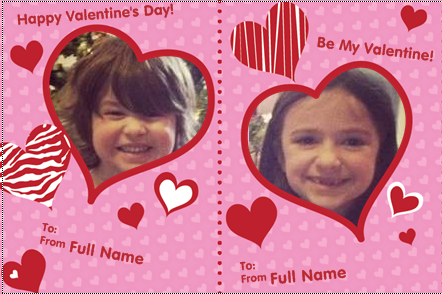 30 free personalized kids valentine cards from vistaprint faithful