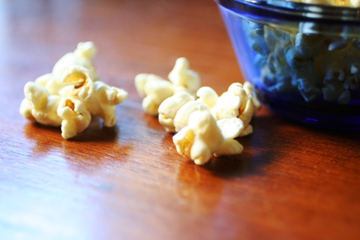 Homemade Popcorn-pops