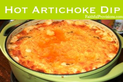 Hot Artichoke Dip