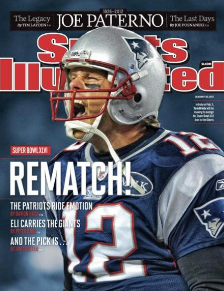 Tom Brady Cookbook Cover ~ Sports illustrated magazine subscription as low