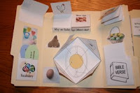 Christian Easter Crafts Ideas For Kids Make An Easter Egg Lapbook