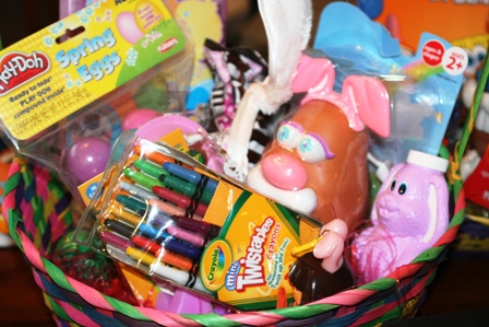 Creative easter basket idea faithful provisions creative easter basket idea negle Image collections