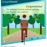 25 Free Recyclebank Points | Green Your Weekend