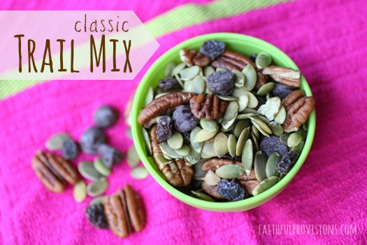 Classic Trail Mix Ideas