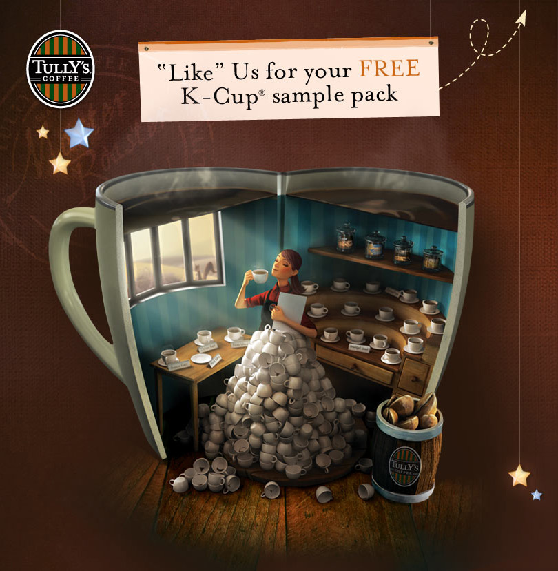 FREE-Tully's-K-Cup-Sample-Pack