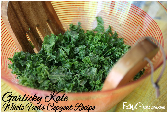 Garlicky Kale Salad - Whole Foods Copycat Recipe