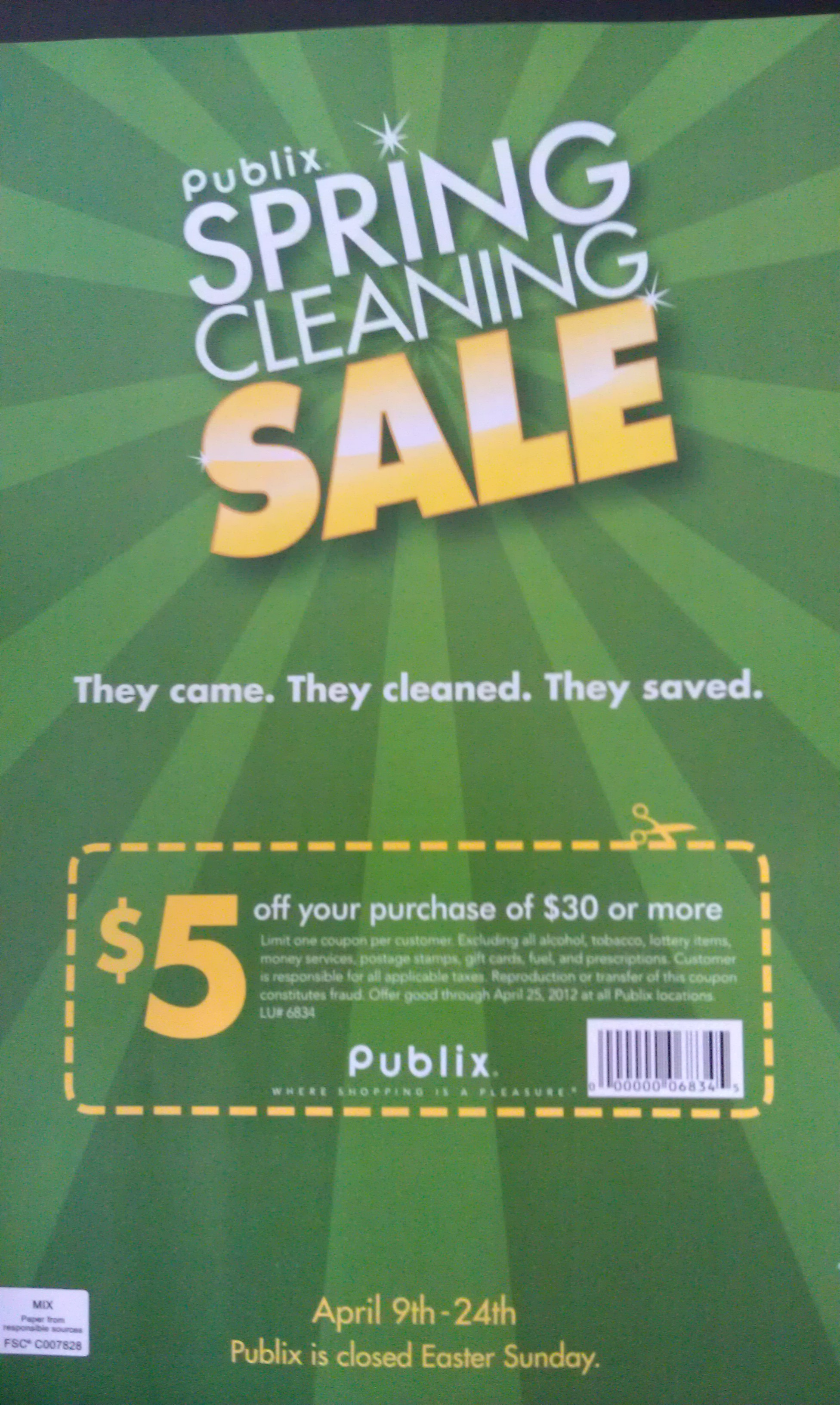 Publix Coupon And Spring Cleaning Sale Booklet Faithful