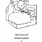Easter Kids Craft Ideas: Peter Rabbit Coloring Pages