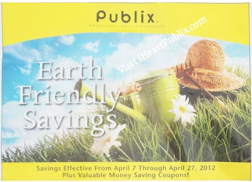 publix-yellow-advantage-flyer-earth-friendly-savings