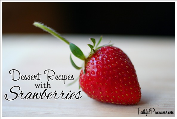 Dessert-recipes-with-strawberries